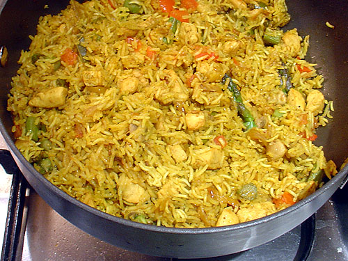 Royal Vegetable Biryani picture