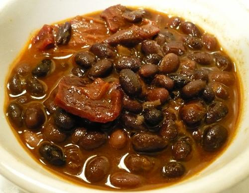 Black-Bean Soup with Rum picture