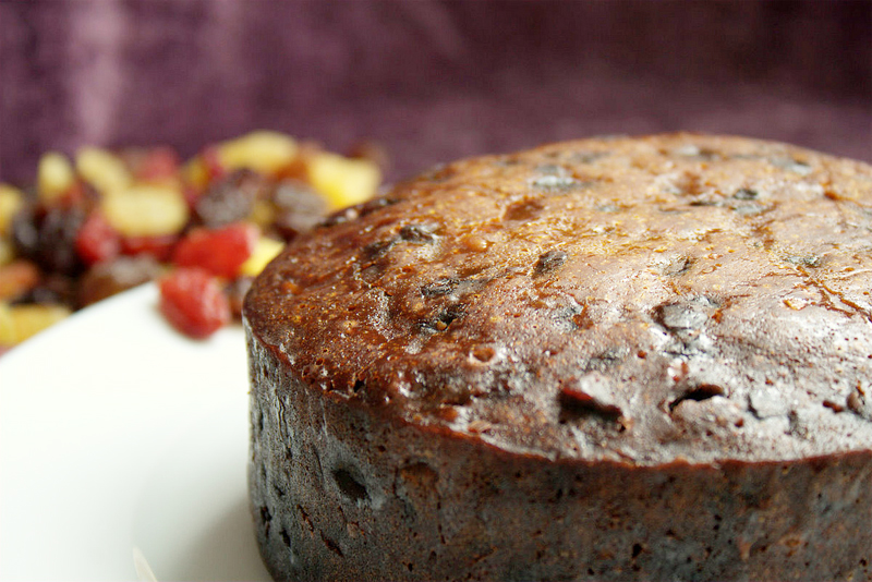 Black Fruit Cake picture