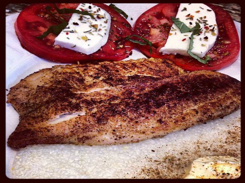 Blackened Redfish picture