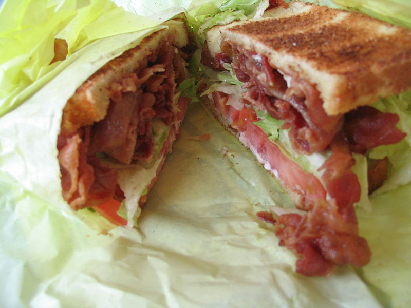 Avocado Bacon Sandwich picture