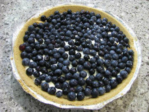 Lemon Blueberry Cream Pie picture
