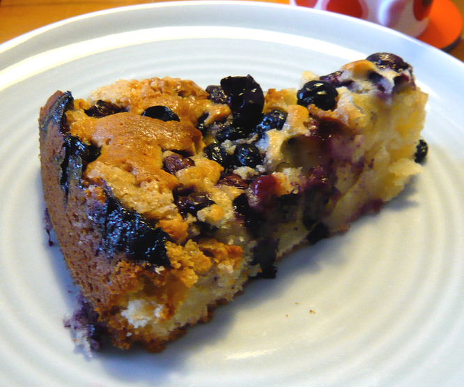 Blueberry  Cake picture