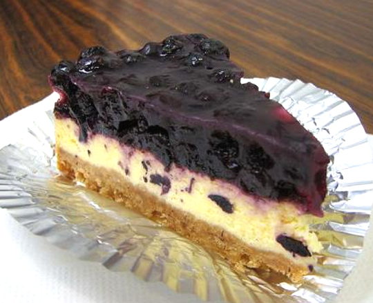 Blueberry Cheesecake Pie picture