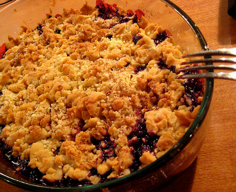 Blueberry Crumble picture