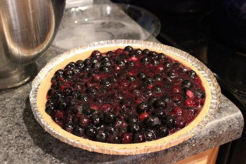 Microwave Cooked Blueberry Pie picture