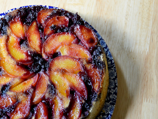 Blueberry Peach Clafouti picture