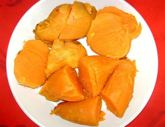 Boiled Sweet Potatoes picture