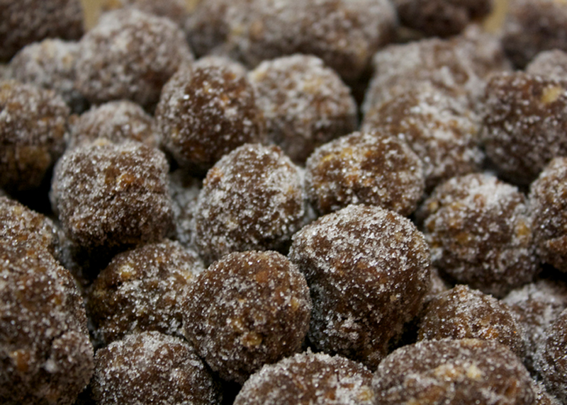 Milk Chocolate Bourbon Balls picture