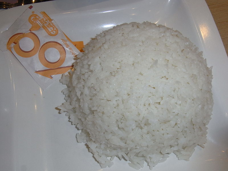 Boiled Rice, Indian Style picture