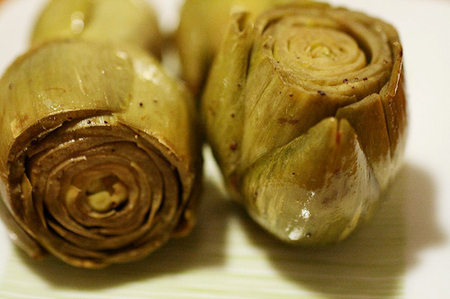 Braised Artichokes picture