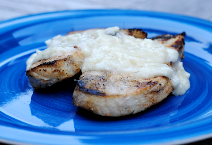 Braised Pork Chops with Cream Gravy picture