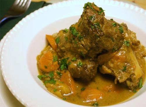 Braised Veal Shanks  Milan Style picture