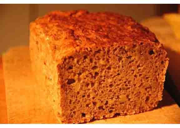 Bran Microwave English Muffin Bread picture