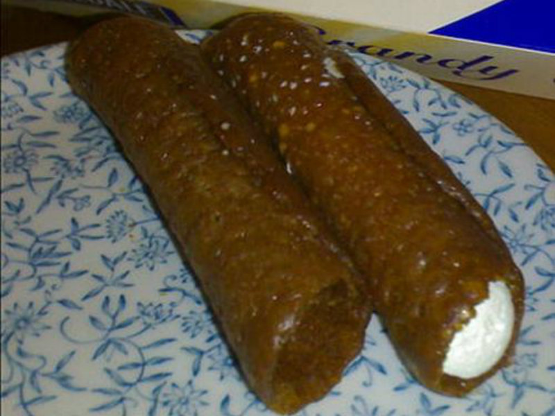 Brandy Snaps Filled with Syllabub picture