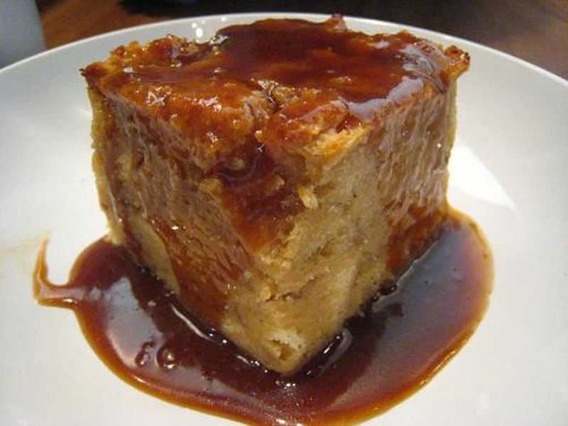 Central House Bread Pudding with Rum Sauce picture