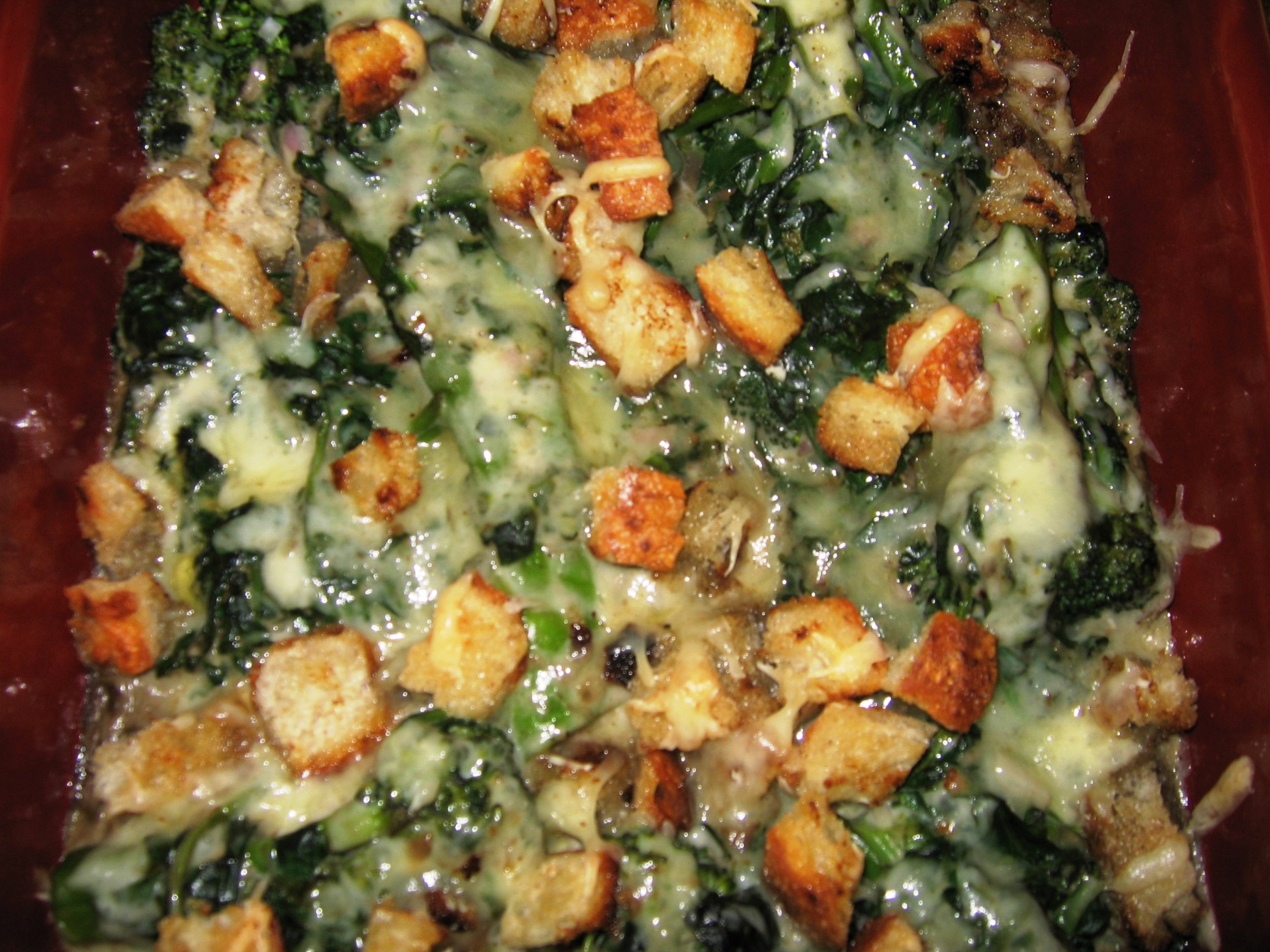 Broccoli-Spinach Casserole picture