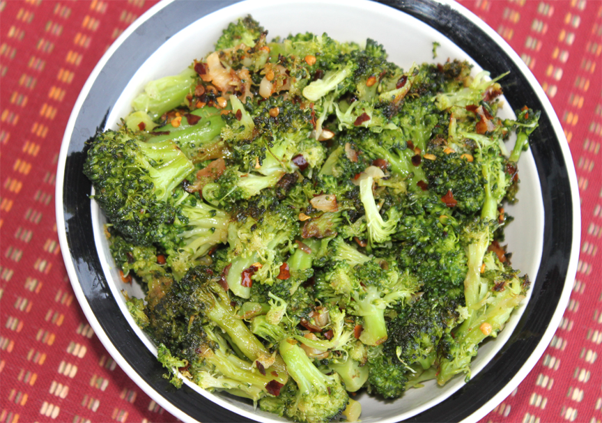 Broccoli And Red Peppers picture