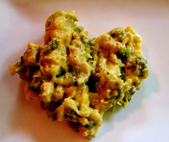 Spinach Broccoli Casserole picture