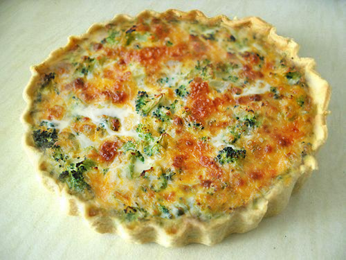 Broccoli Cheese Quiche picture