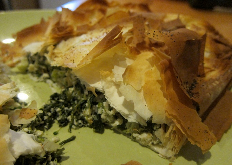 Broccoli Phyllo Pie picture