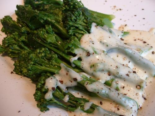 Broccoli with Lemon Sauce picture
