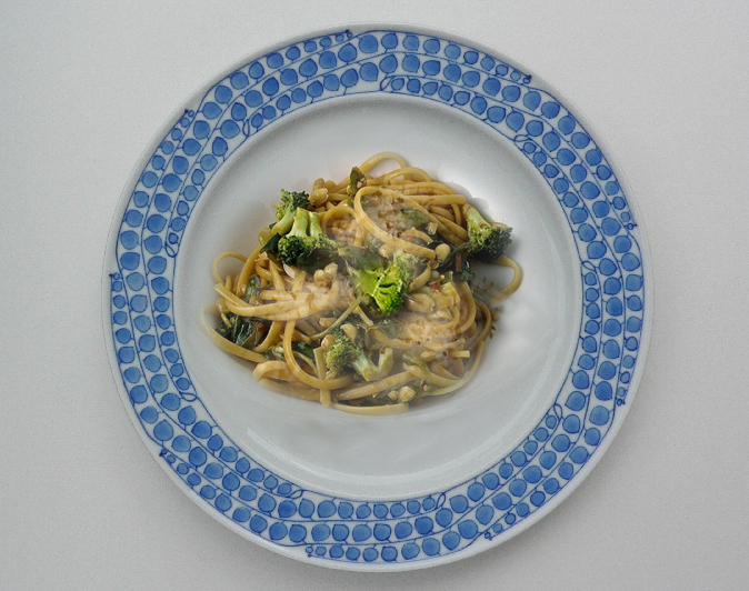 Broccoli With Linguine picture