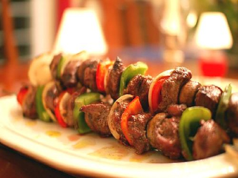 Brochettes On Charcoal picture