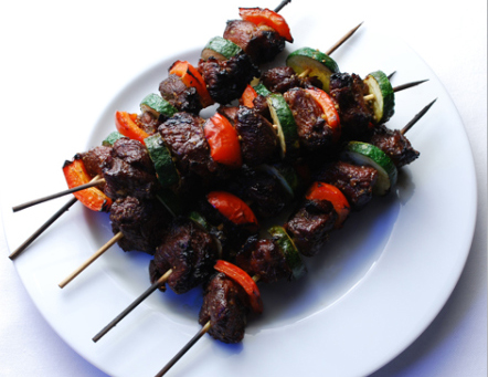 Broiled Liver Kebabs picture