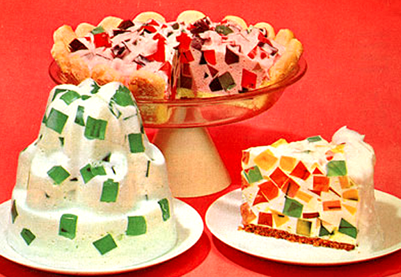 Broken Glass Cake Dessert picture