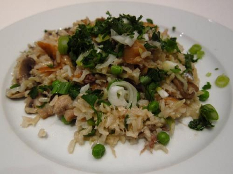 Brown Rice And Vegetable picture