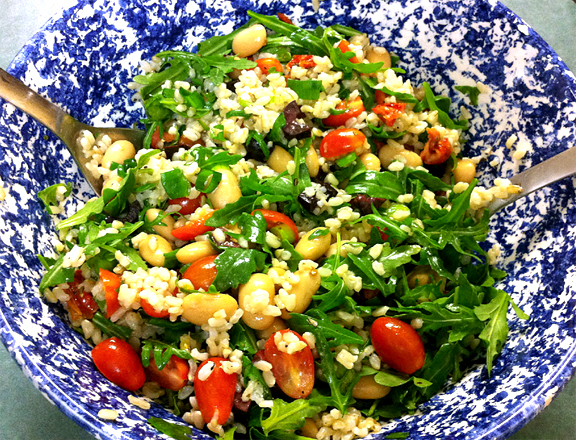Brown Rice Garden Salad picture
