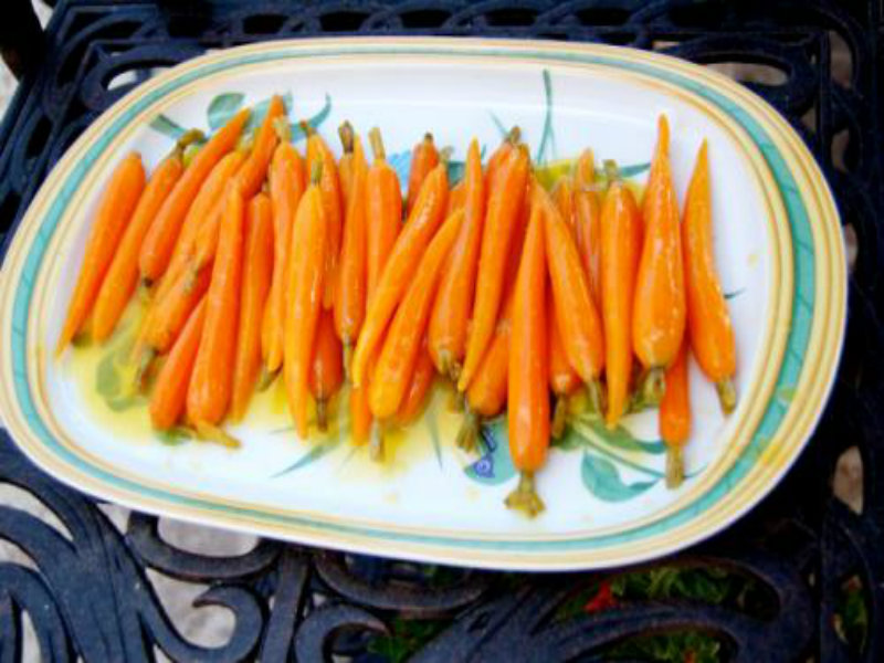 Carrots with Ginger and orange Butter picture