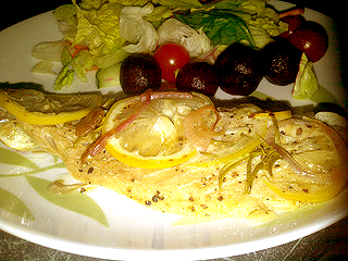 Baked Mackerel picture