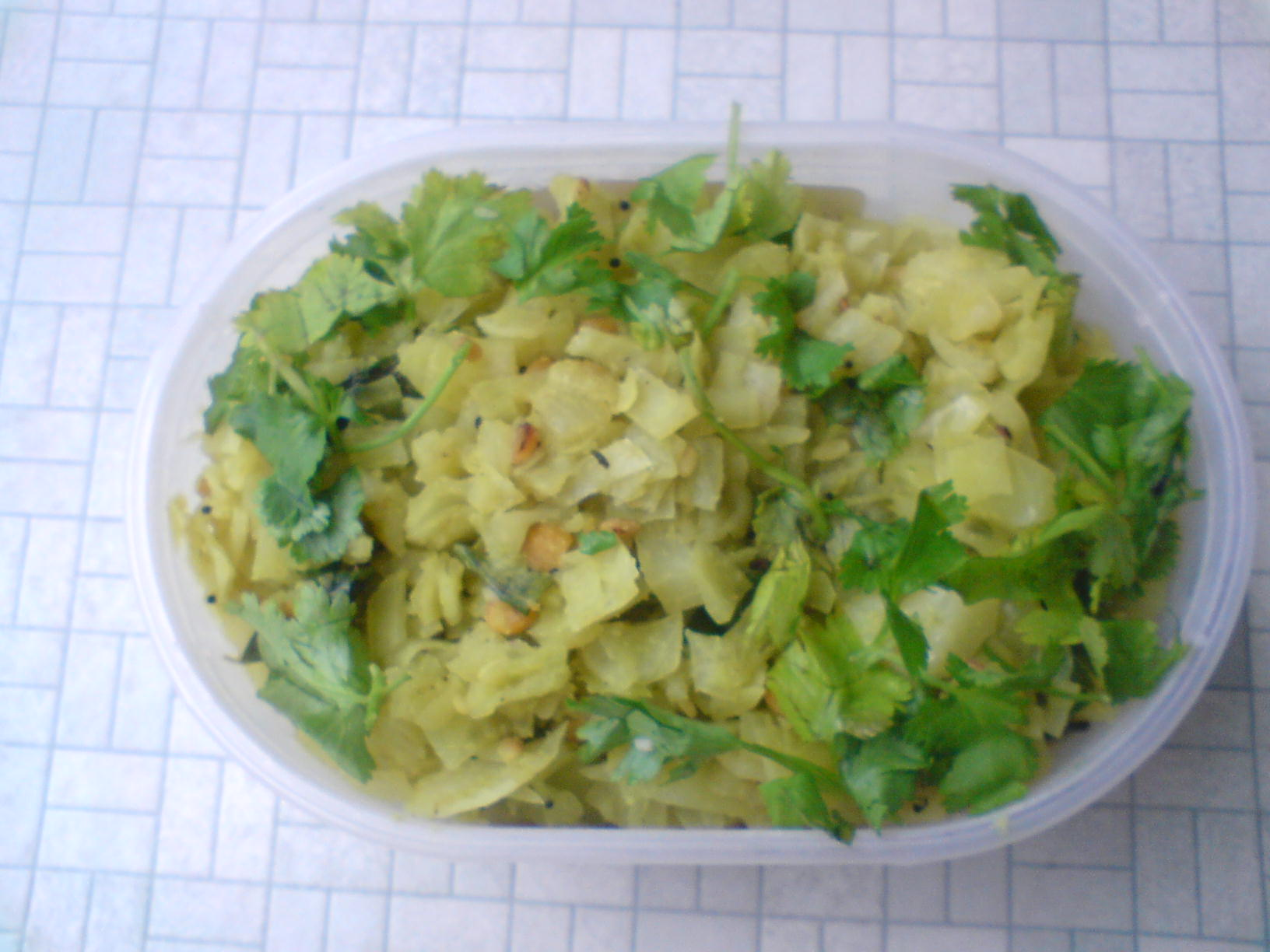 Cabbage Palya picture