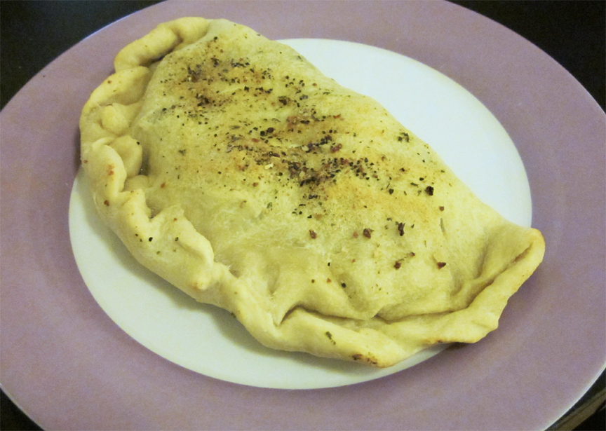 Calzone with Zucchini Filling picture