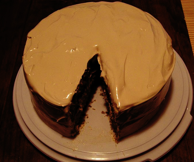 Caramel Fudge Frosting picture