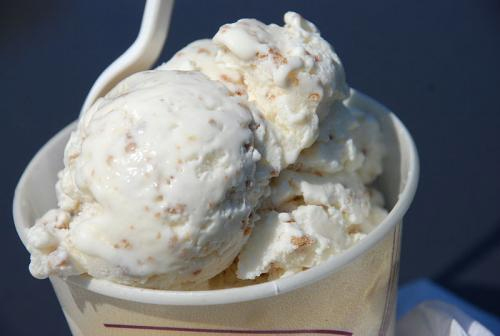 Caramel Nut Ice Cream picture