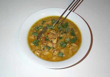 mango  chicken curry picture