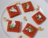 Carrot Burfi picture