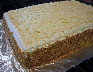 Carrot Crumb Cake picture