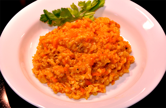 Onion Brown Rice With Carrots picture