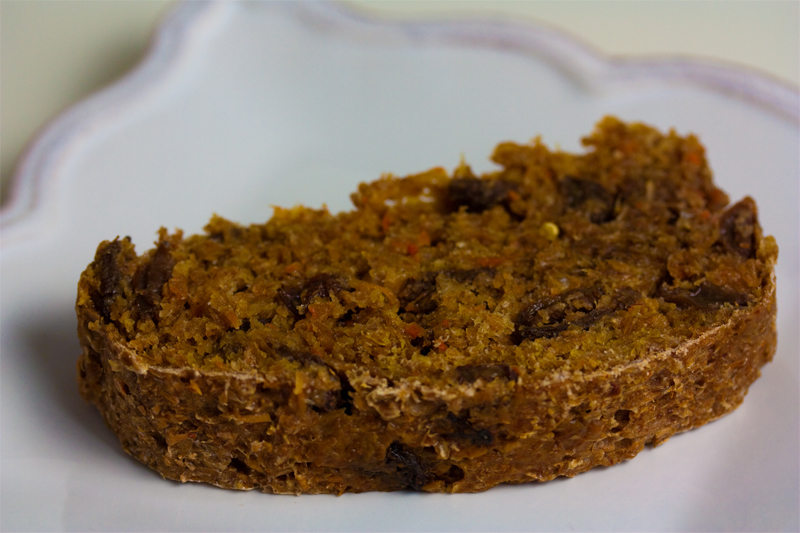 Carrot Raisin Tea Bread picture