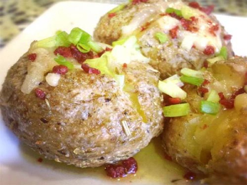 Carrot Stuffed Potatoes picture