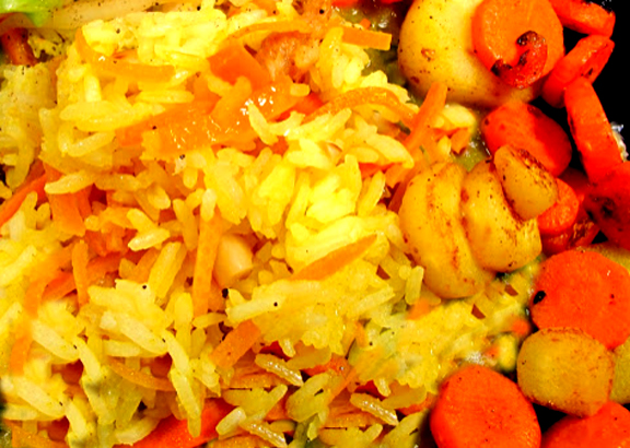 Valencia Rice & Carrots picture