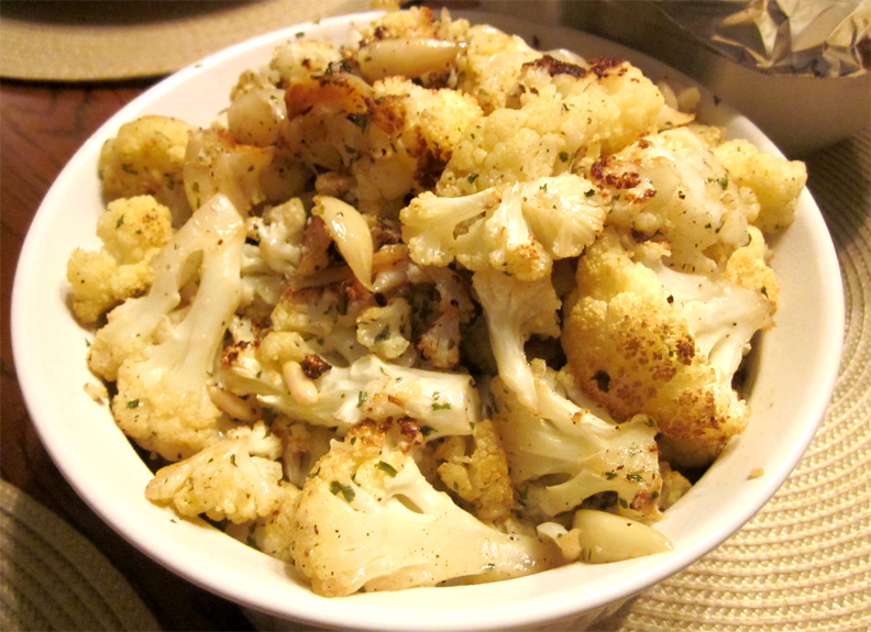 Cauliflower From The Oven picture