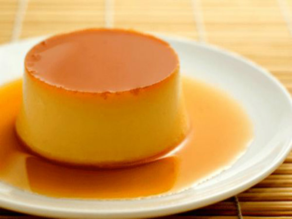 Custard With Caramel Syrup picture