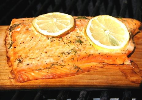 Cedar Plank-Grilled Salmon picture