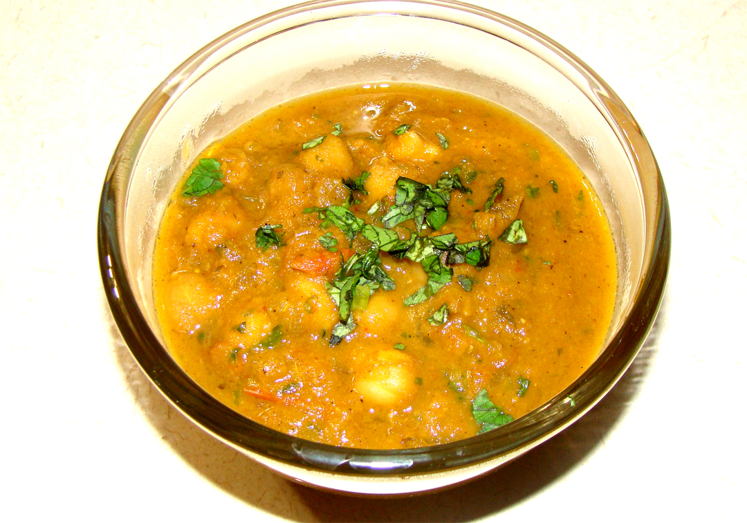 Chana Masala picture