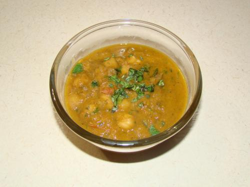 Chana With Gravy picture